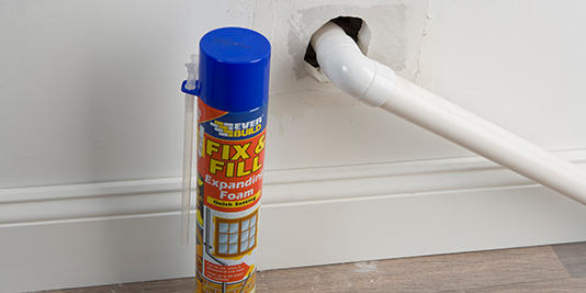 How to use Expanding Foam