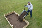 Fill Bed with Soil