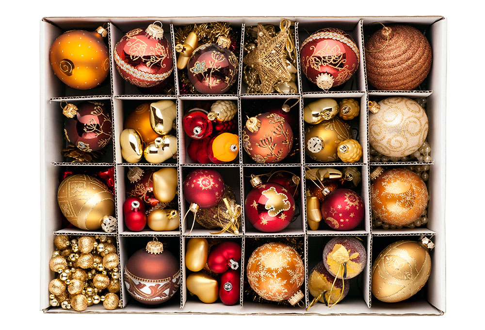 5 tips for storing your christmas decorations toplineie - Bed Bath And Beyond Christmas Decorations