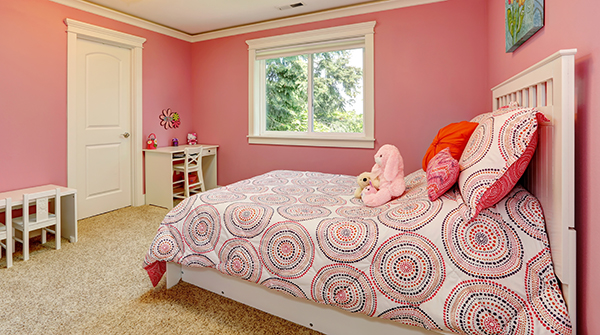 S Pink Bedroom How Colours Affect Mood