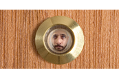 How to Fit a Peephole in a Door