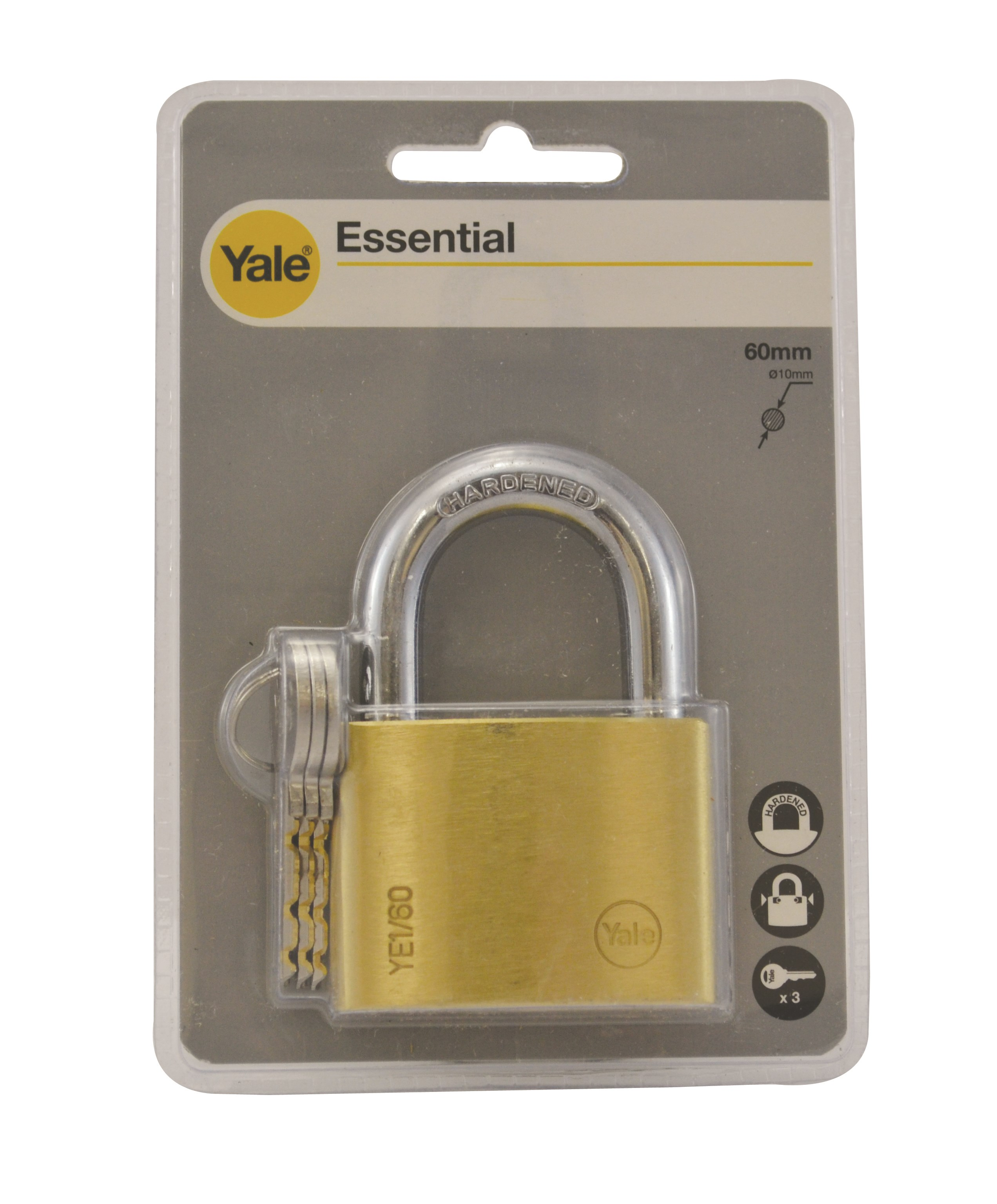 Yale Brass Padlock 60mm Padlocks Locks Amp Cables