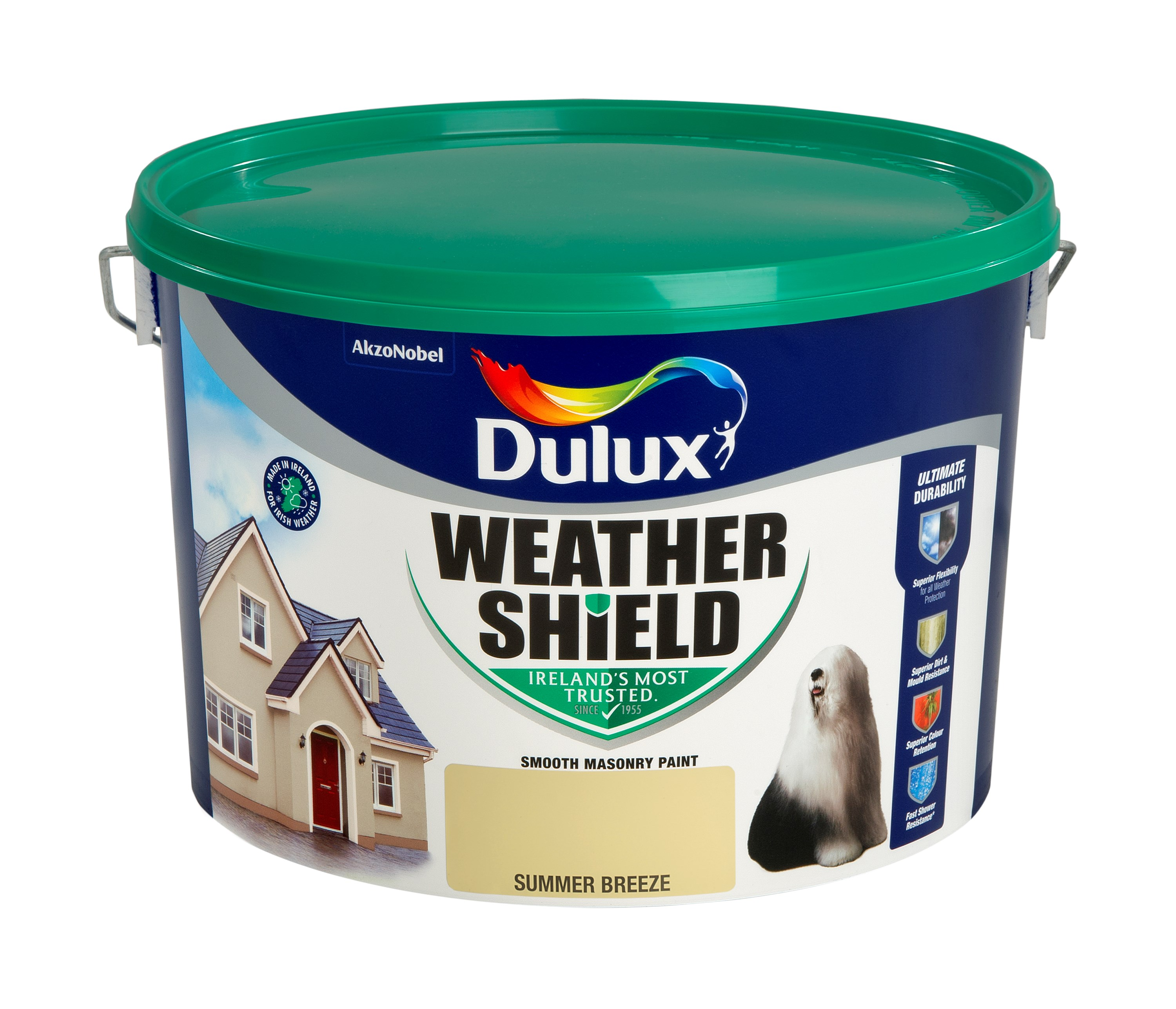 Dulux Masonry Paint Colours - 10 Litre