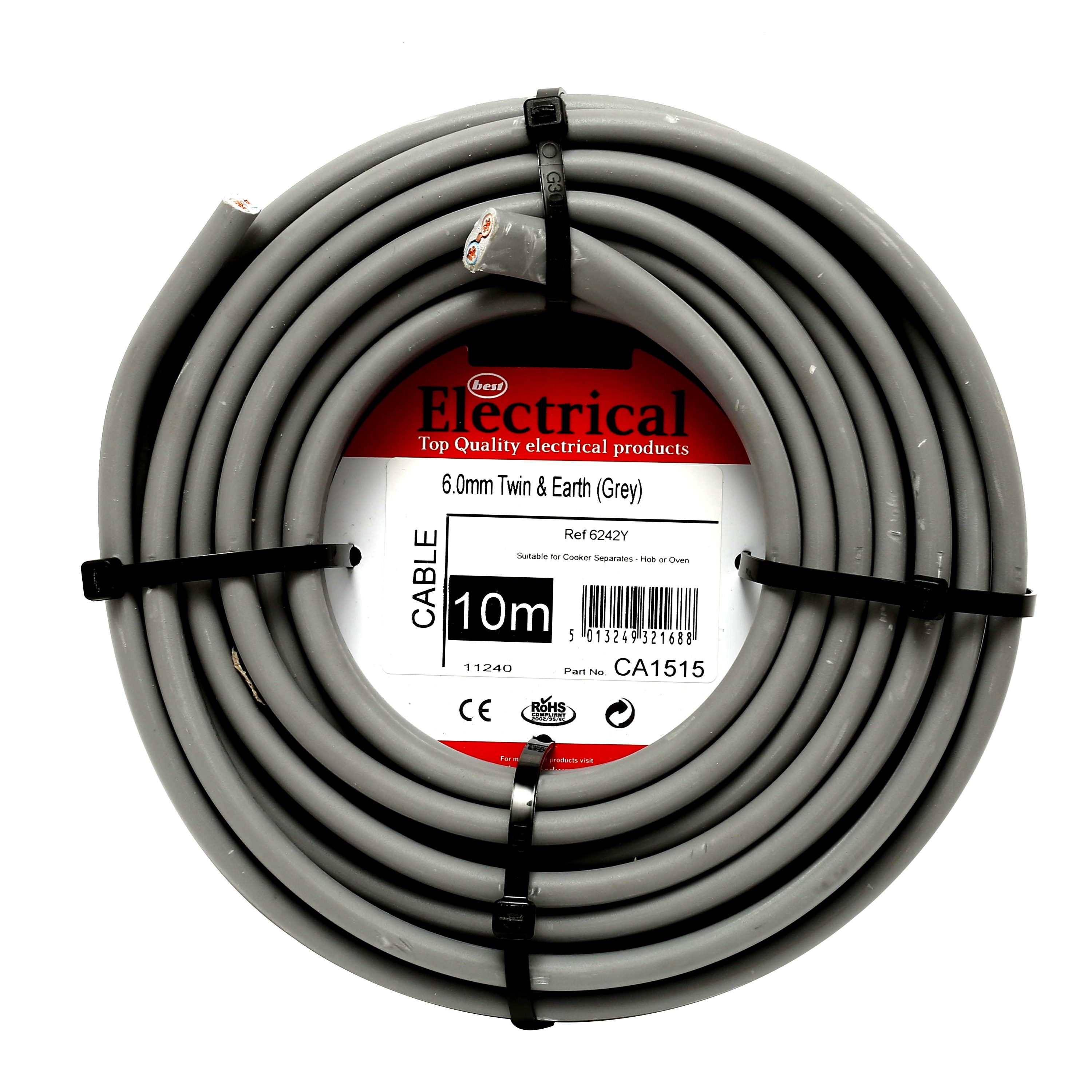 Standard House Wiring Cable Indoor Outdoor Design Household Size Best Electrical Twin Earth Grey 6mm Housing Home Run