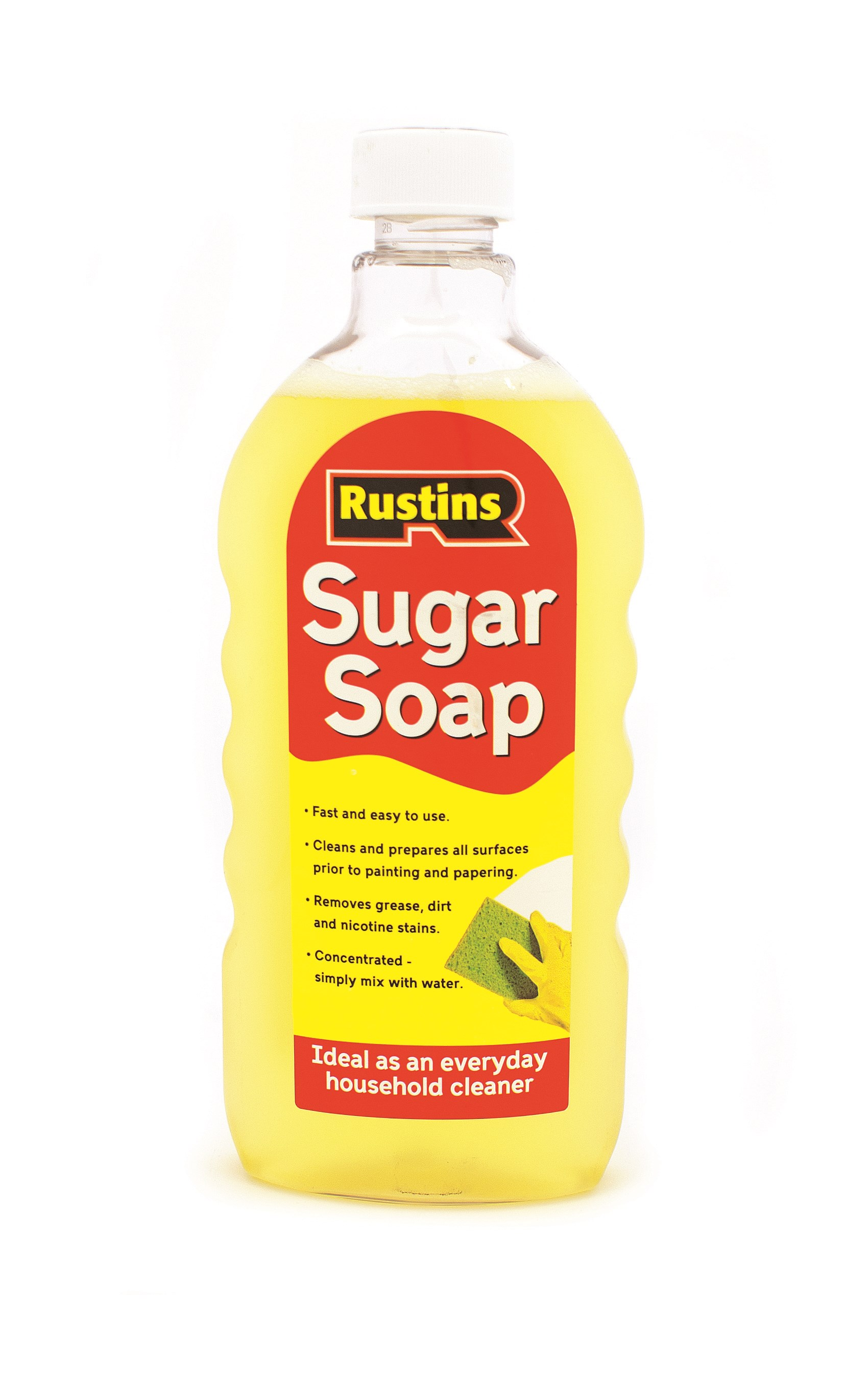 Rustins Sugar Soap - 500ml | Paint Preparation & Cleaners