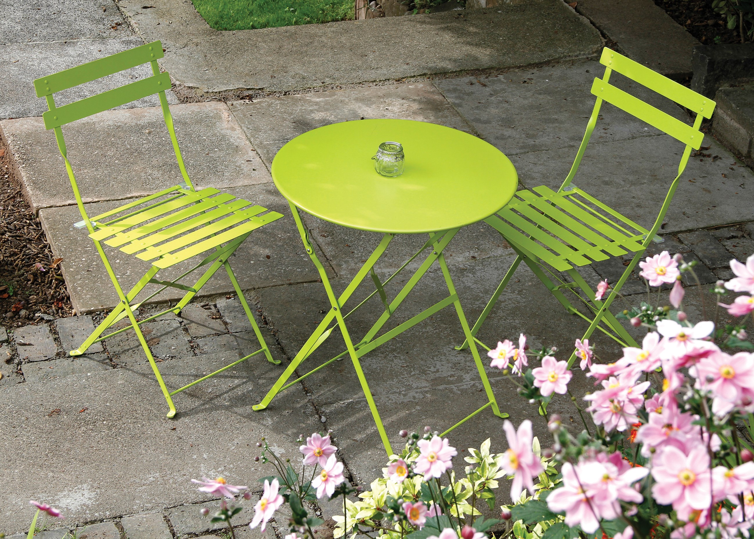 Padstow 2 seater bistro set green