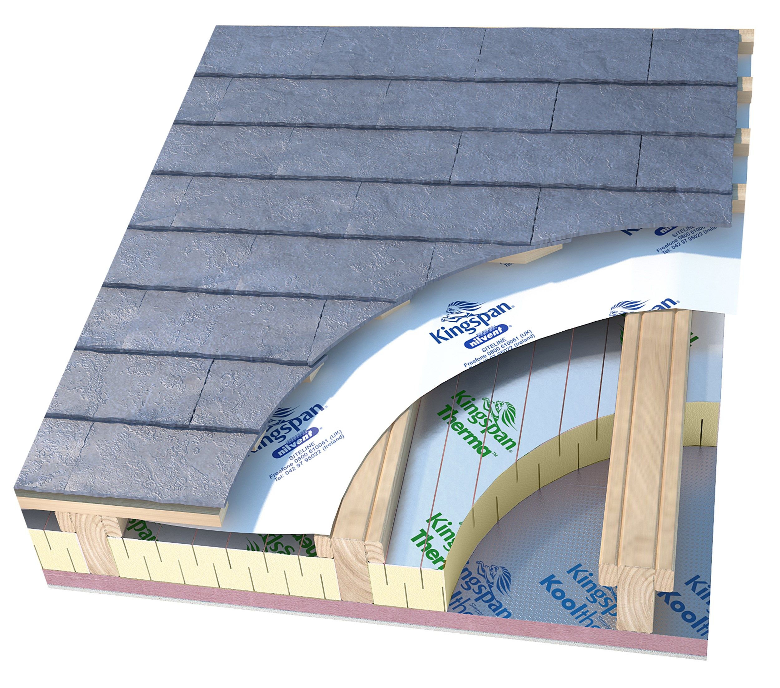 Kingspan Thermafit Flexible Pitch Roof Insulation Foam