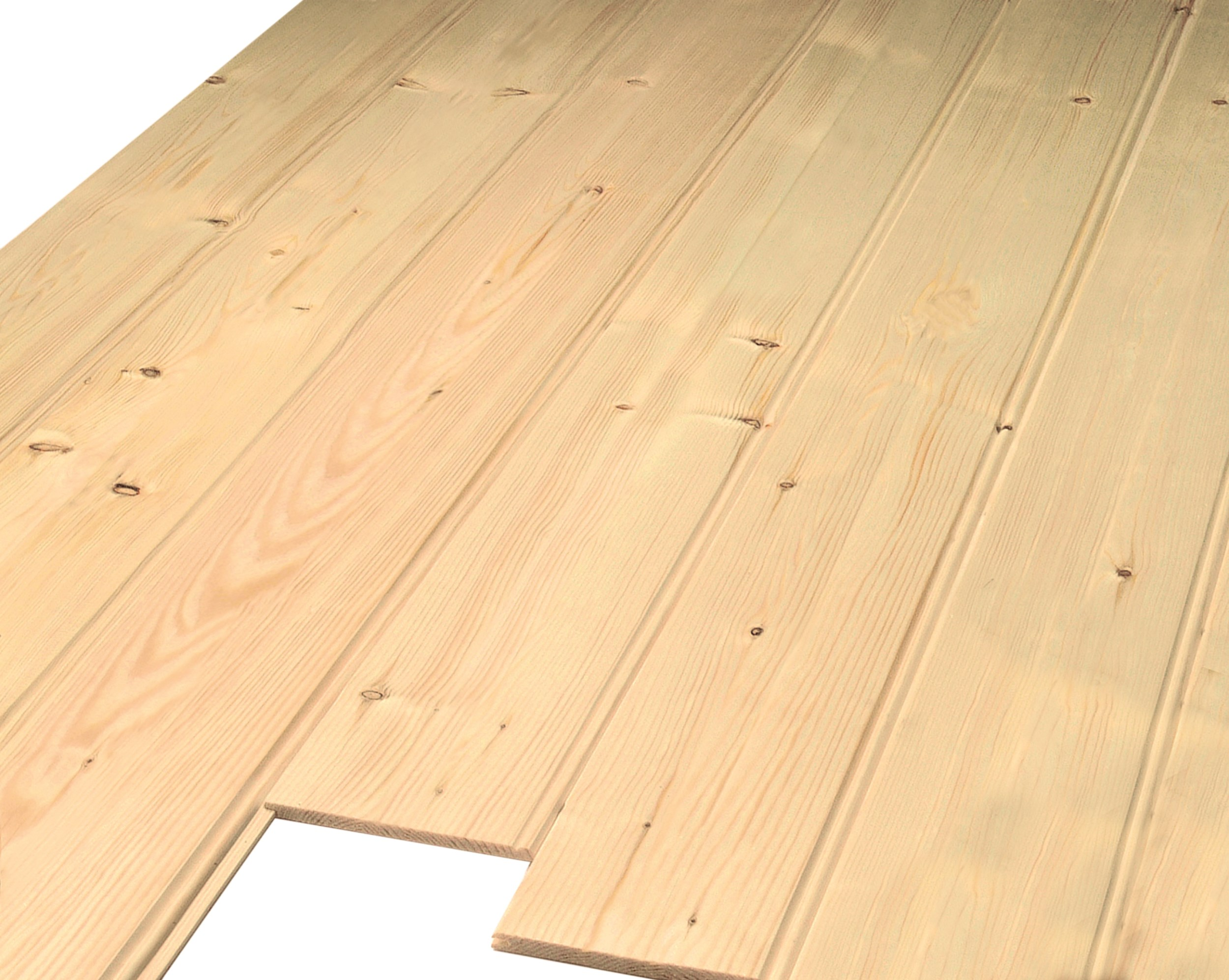 Picton White Deal 7mm Tongue Amp Groove Cladding Plain Tg