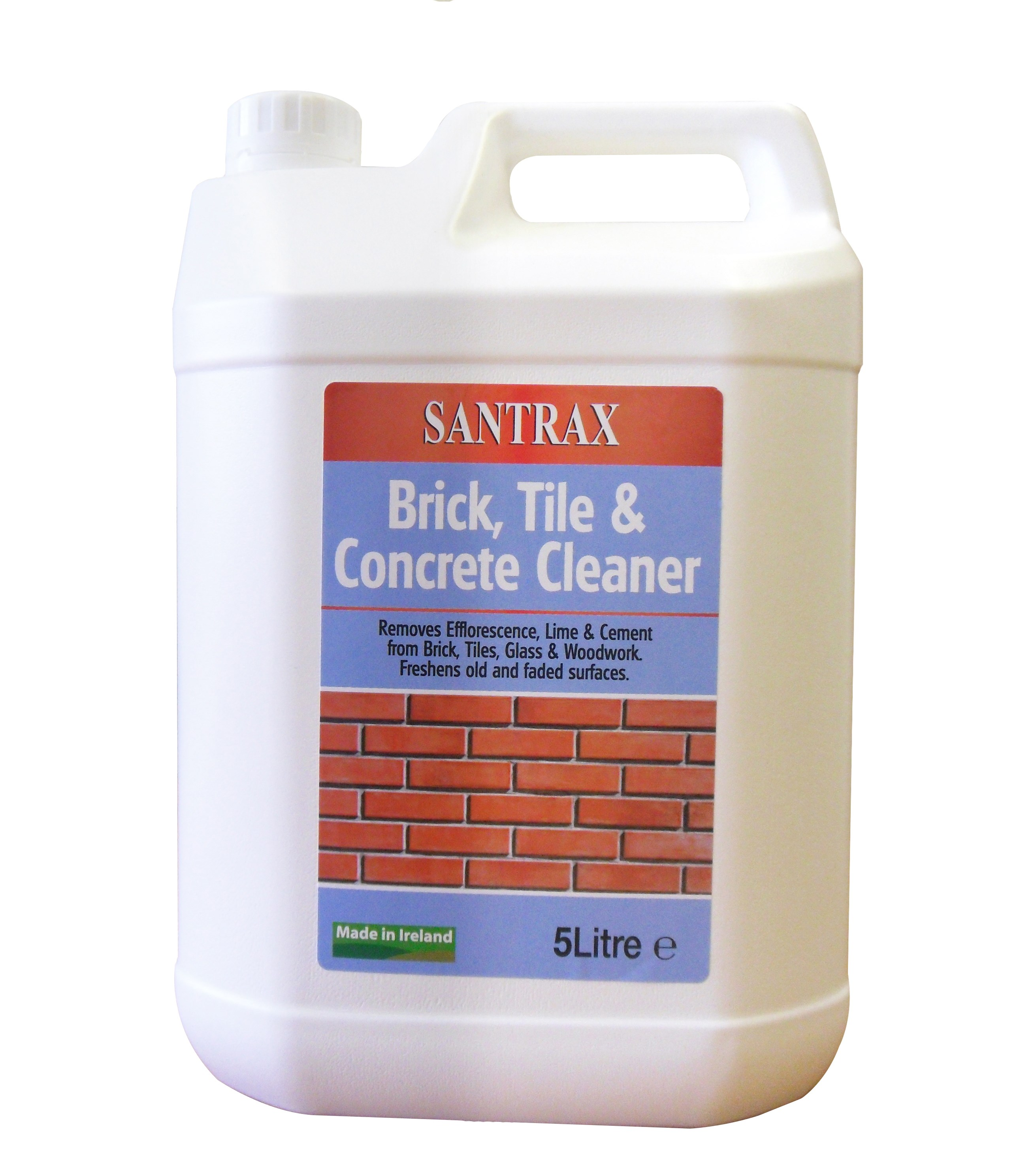 Santrax brick tile concrete cleaner 5 litre home for Best degreaser for concrete