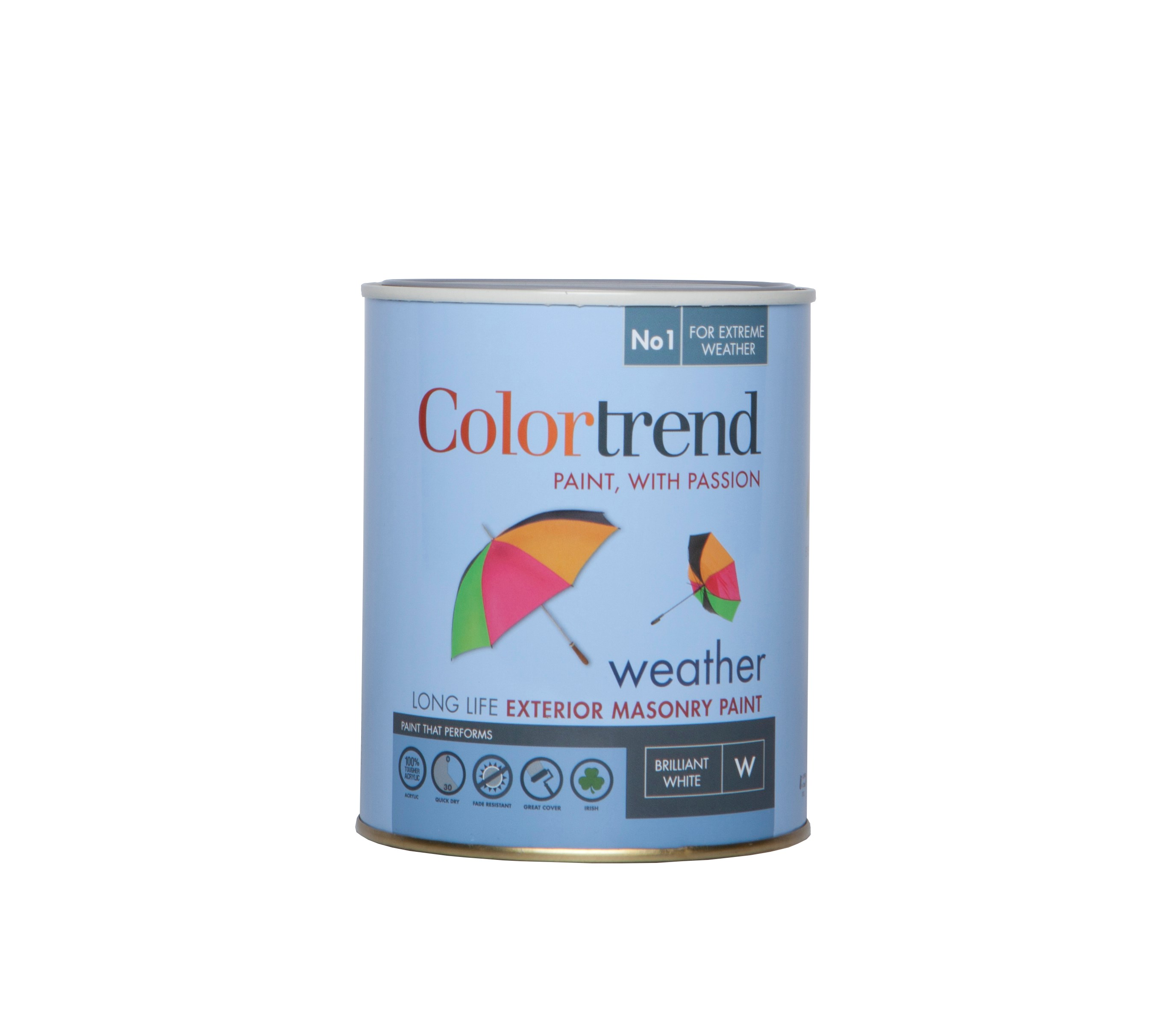 Colortrend Weather Exterior Masonry Colours Paint 1