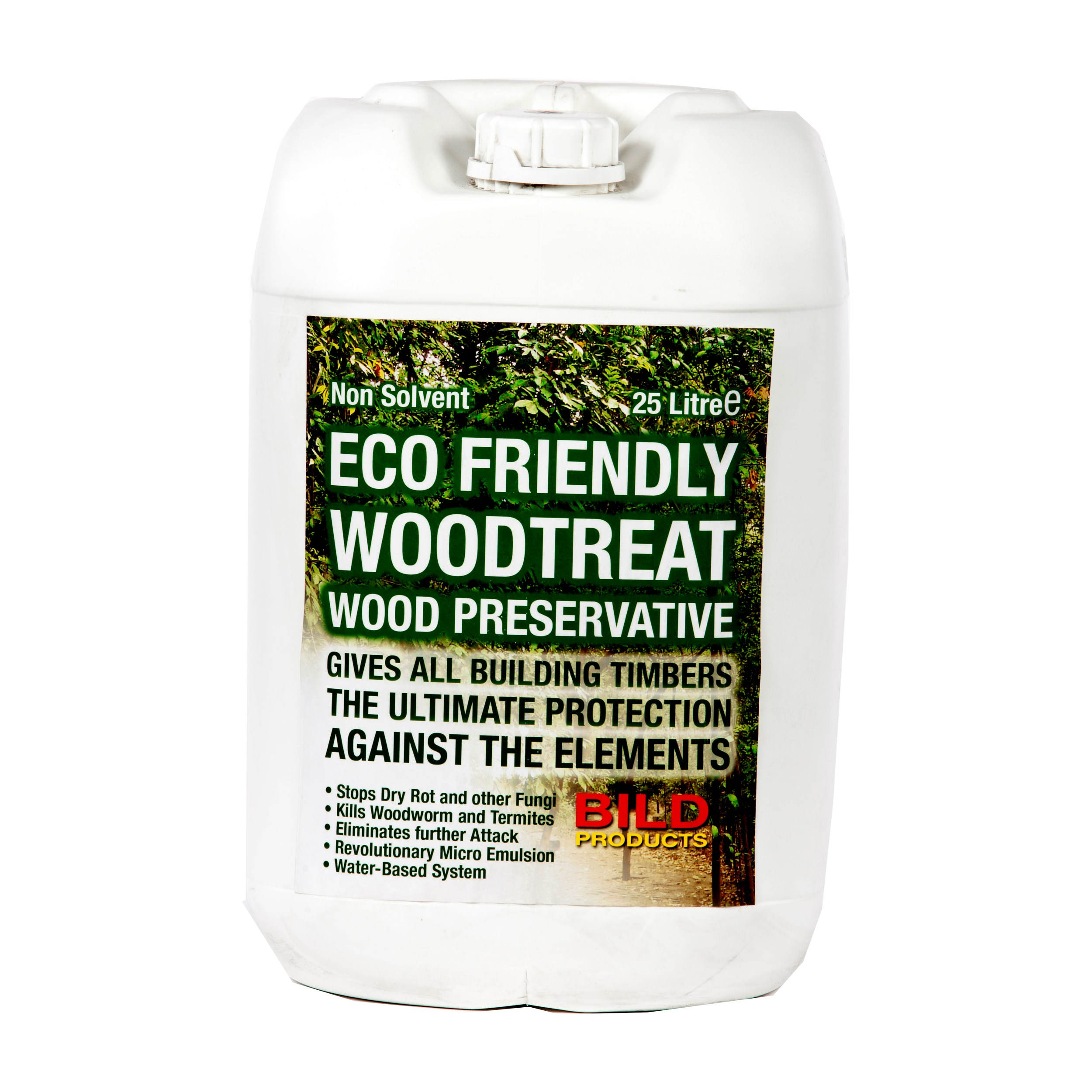 Ibc Eco Friendly Wood Preservative 25 Litre Fence