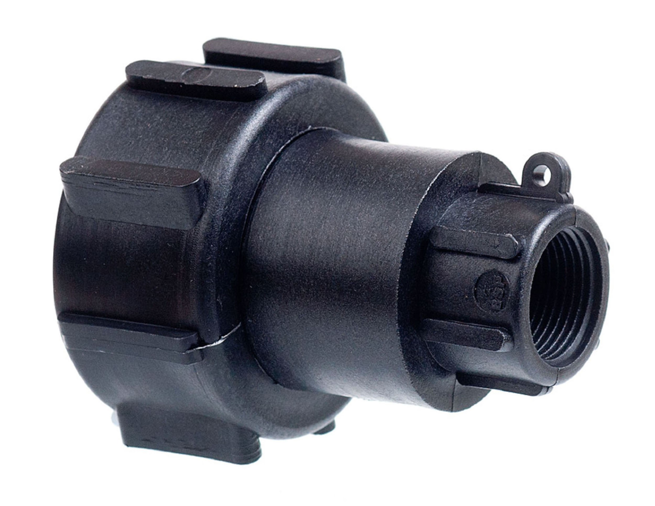 Push To Connect Fittings >> IBC Tank Connector | Plastic Fittings | Topline.ie