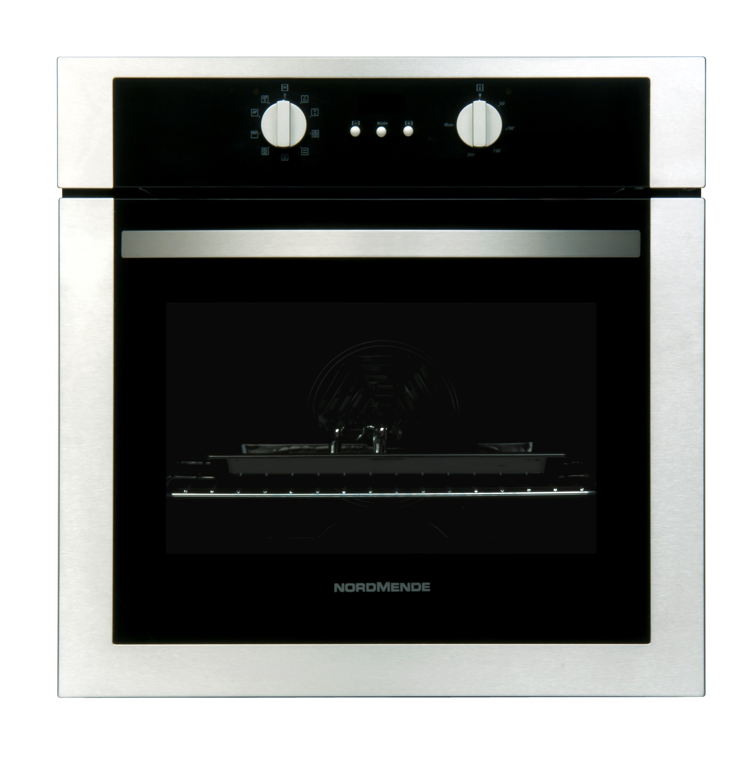 Nordmende Single Stainless Steel Fan Oven Grill So302ix Ovens