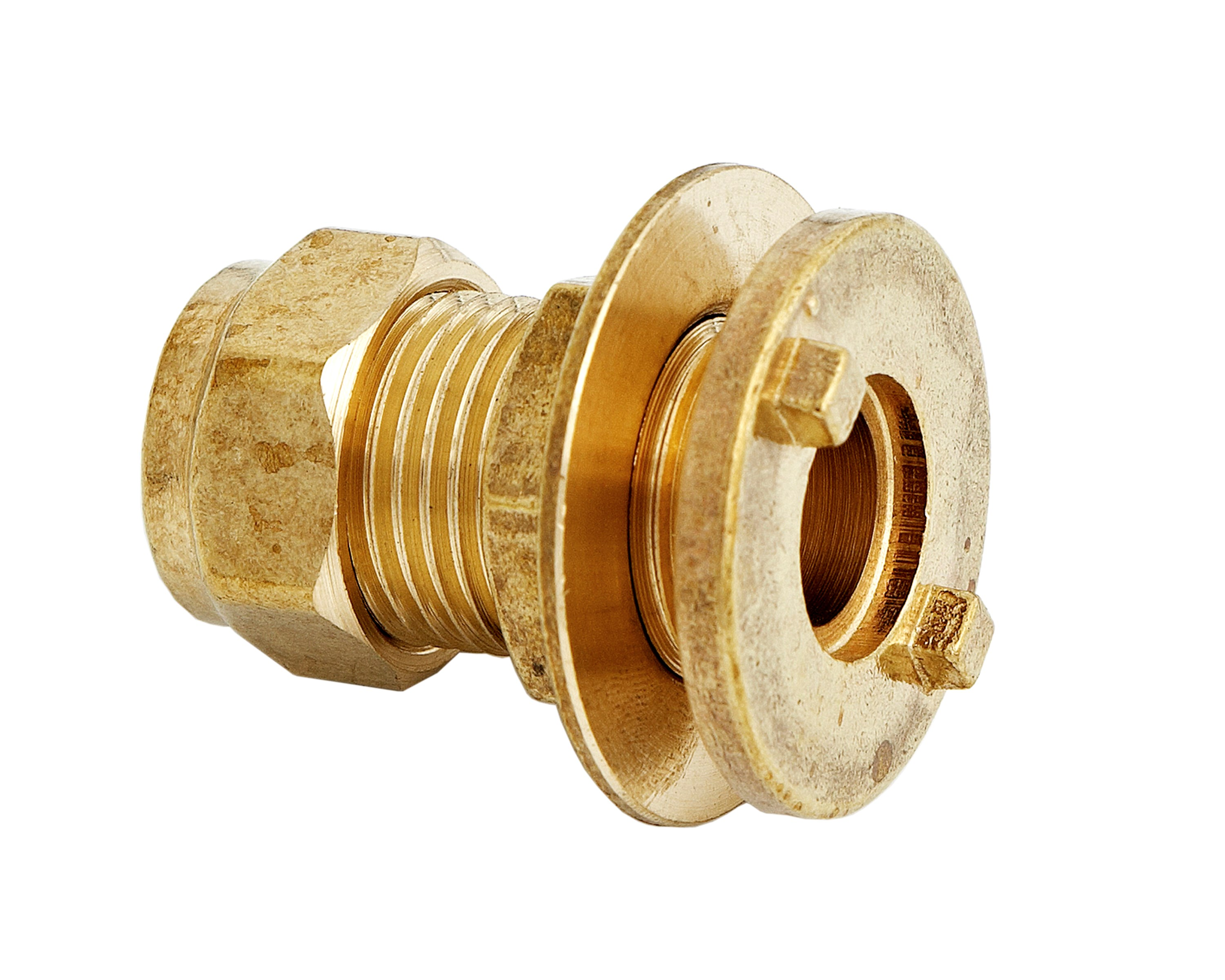 Uel compression tank connector brass pipe fitting