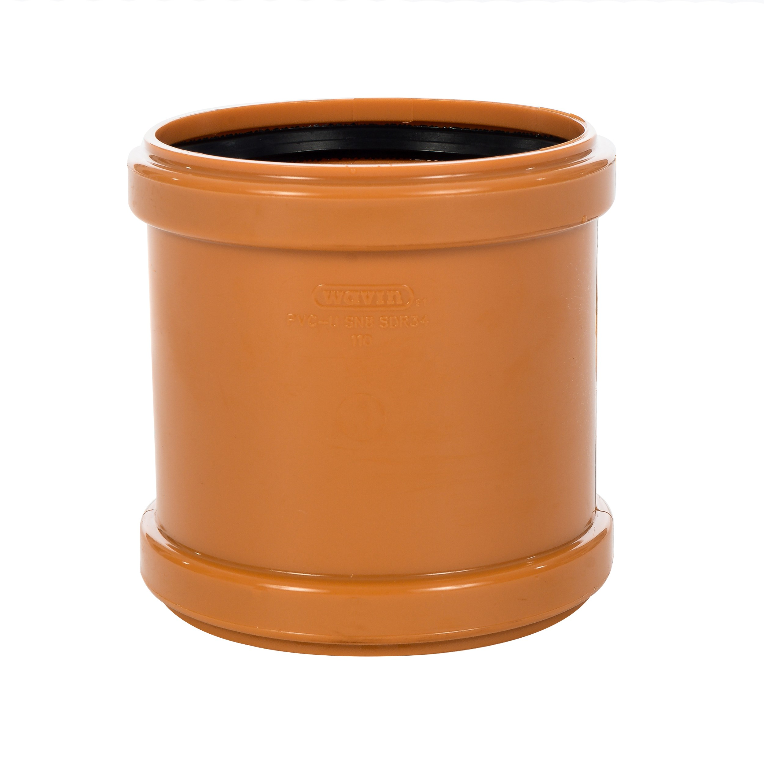 Wavin Pvc Sewer Pipe Coupler 110mm Sewer Fittings