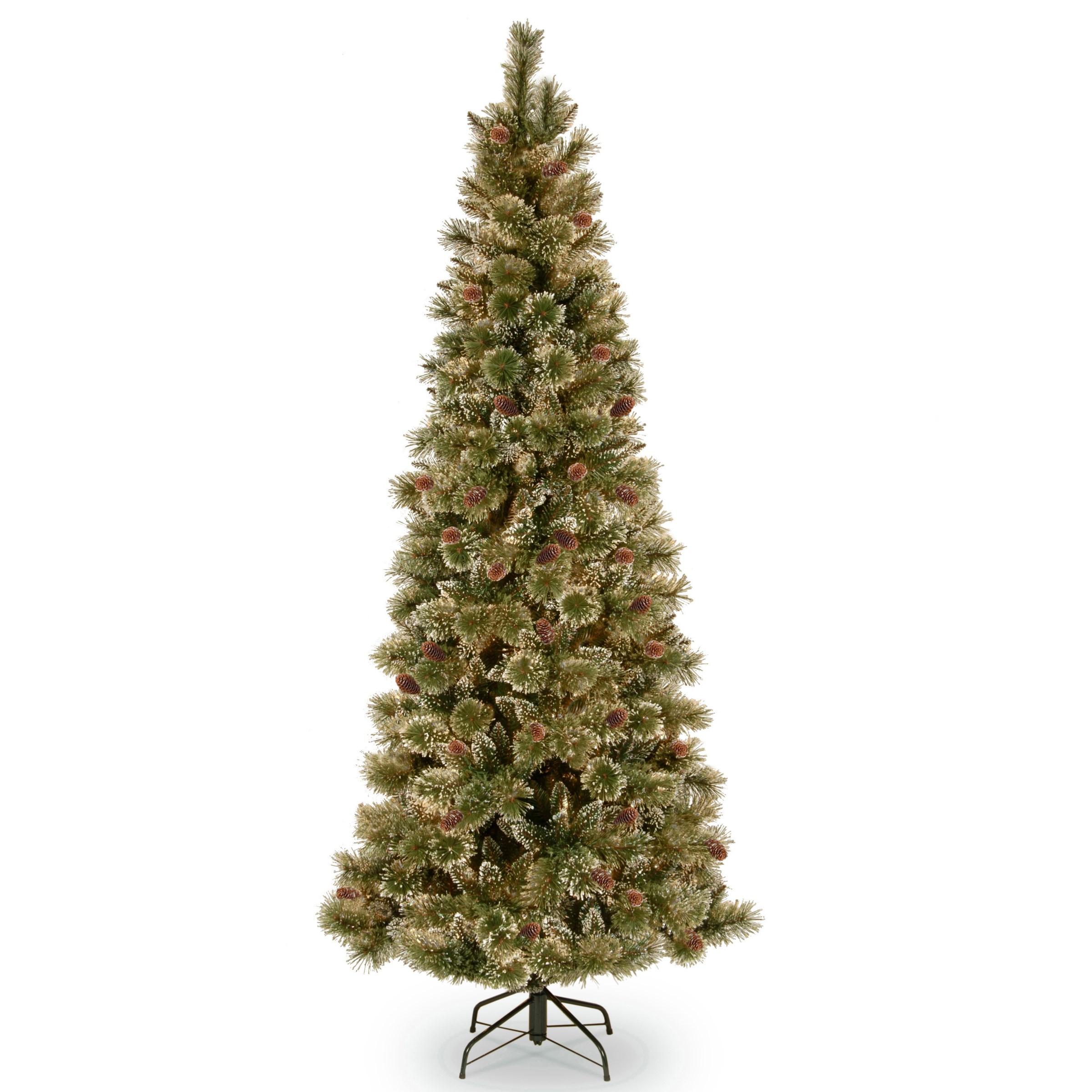 National Tree Company Glittery Bristle Pine Christmas Tree