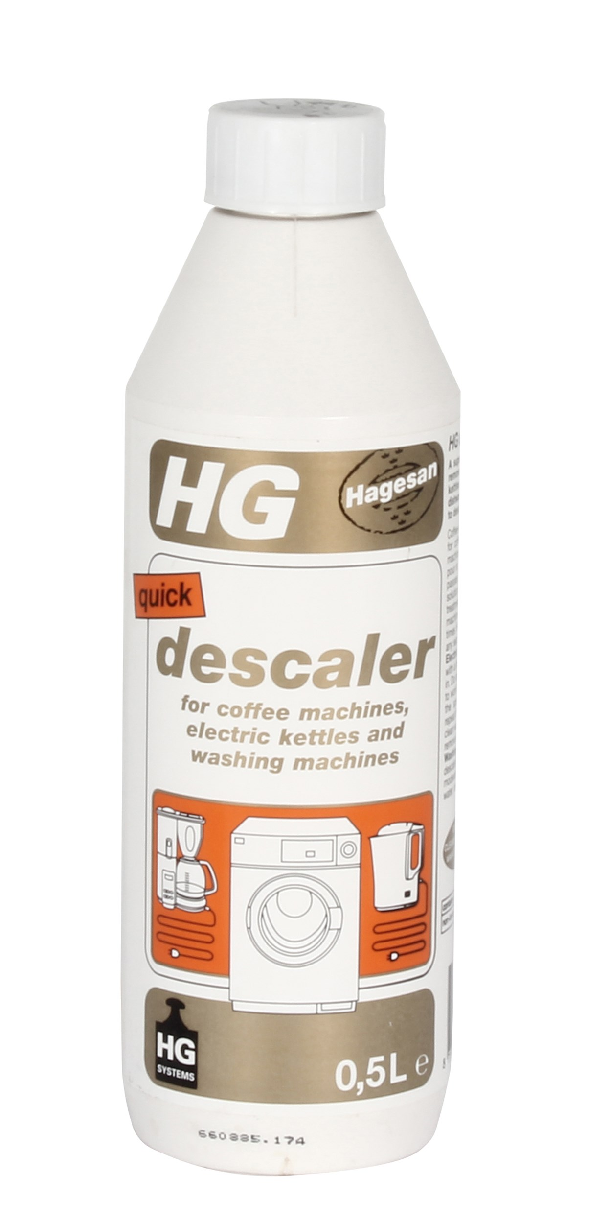 hg quick descaler 500ml home cleaning products. Black Bedroom Furniture Sets. Home Design Ideas