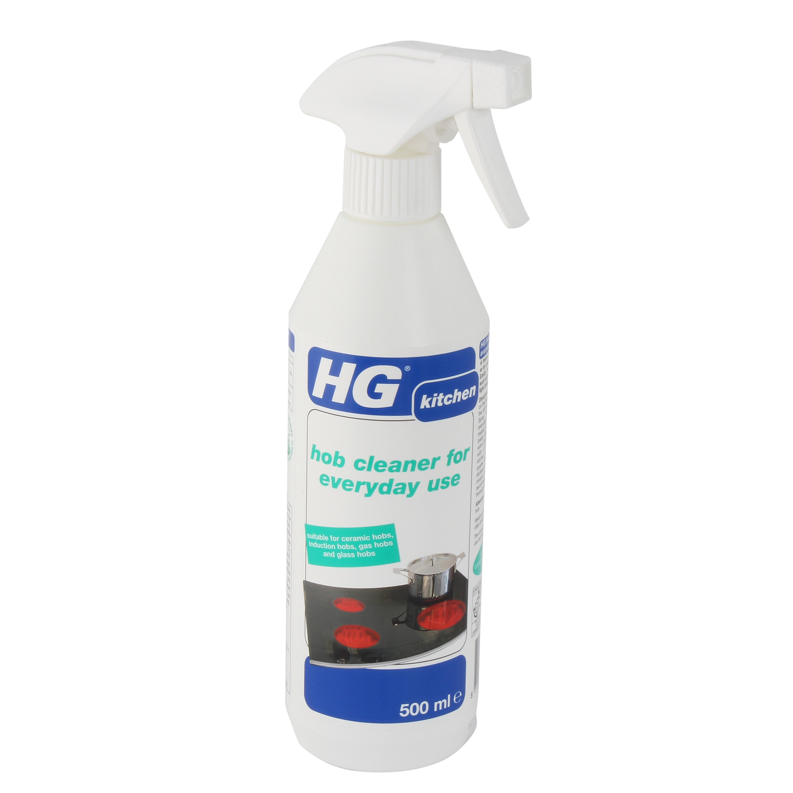 hg hob cleaner for everyday use 500ml home cleaning. Black Bedroom Furniture Sets. Home Design Ideas