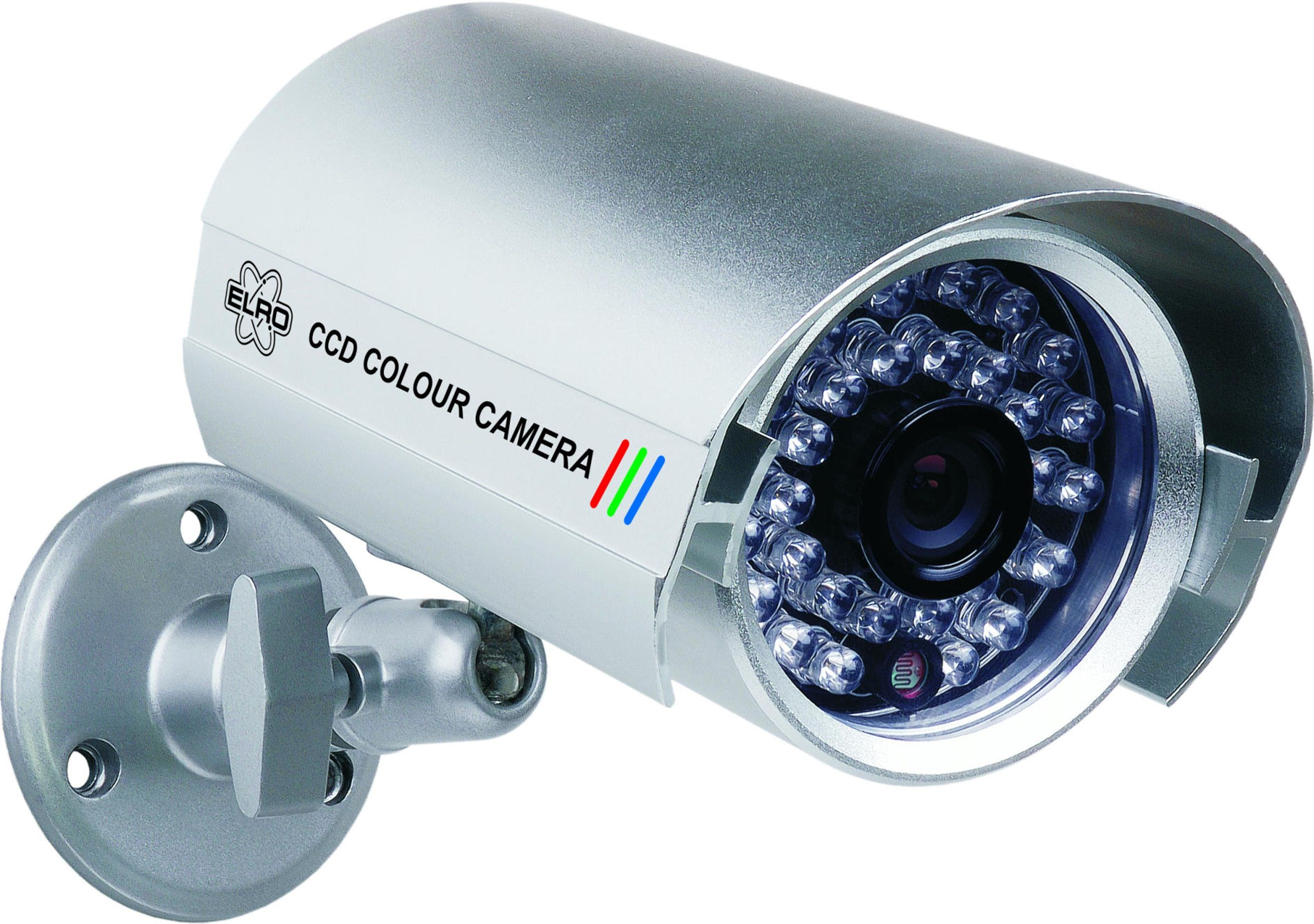 elro wired ccd colour security camera with 30 infrared leds