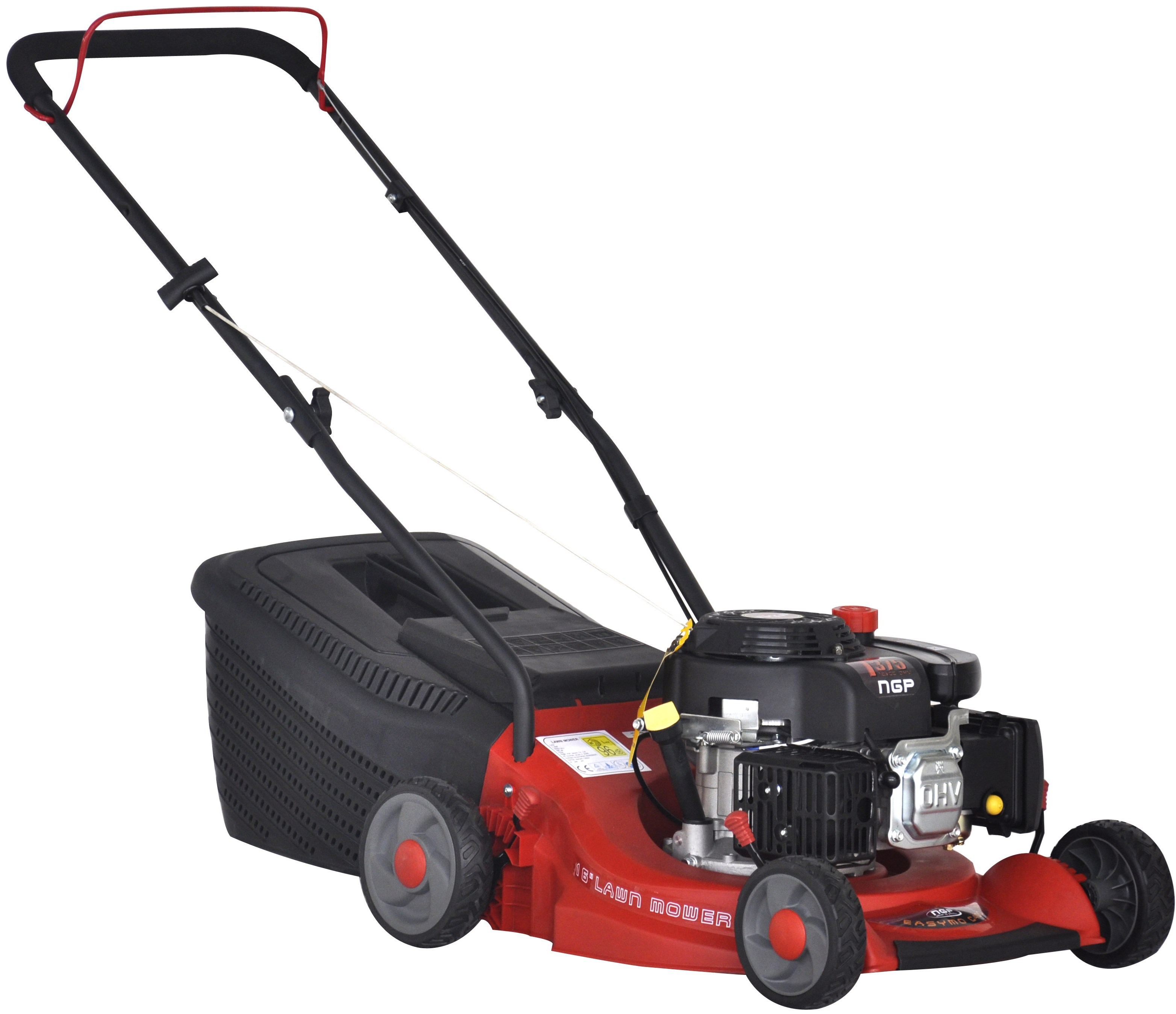 Easymo Poly Deck Push Lawnmower C400i T375 Petrol