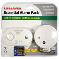 Kidde Lifesaver Essential Alarm Pack
