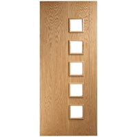 Deanta  HP19G Internal Oak Door