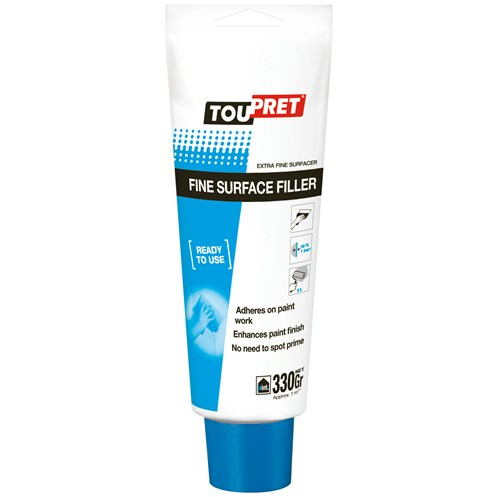 Toupret  Ready Mixed Fine Surface Filler - 330g