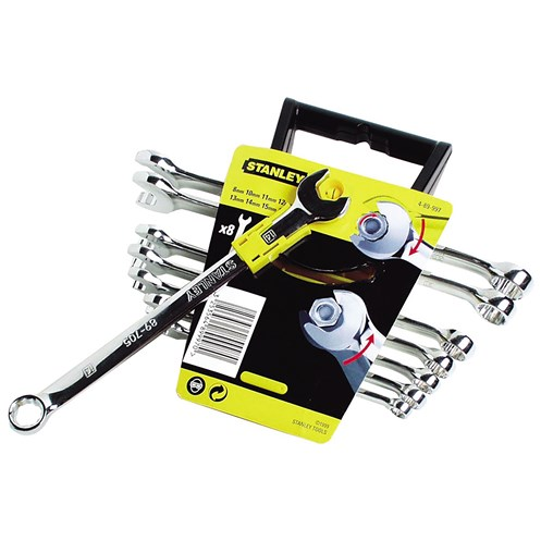 Stanley  Metric Ratchet Wrench Set - 8 Piece