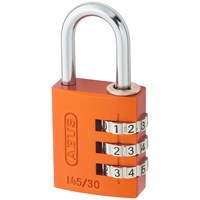 Abus  145 Series Aluminium Combination Padlock