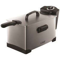 Russell Hobbs  Brushed Steel Pro Fryer - 3.2 Litre
