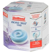 Unibond  Aero 360° Pure Moisture Absorber Refill Tabs Lavender - Twin Pack