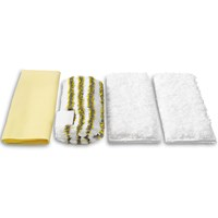 Kärcher  Steam Cleaner Microfibre Bathroom Cleaning Cloths - 4 Pack