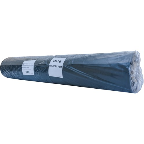 Laydex  1000 Gauge Polythene - Black
