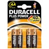 Duracell  Plus Power Batteries - AA