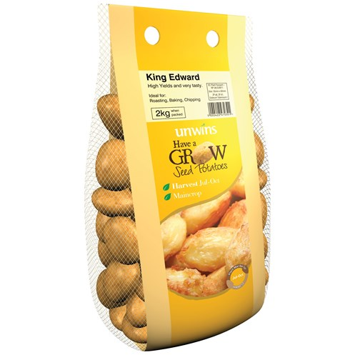 Unwins  King Edward Main crop Potato Seeds