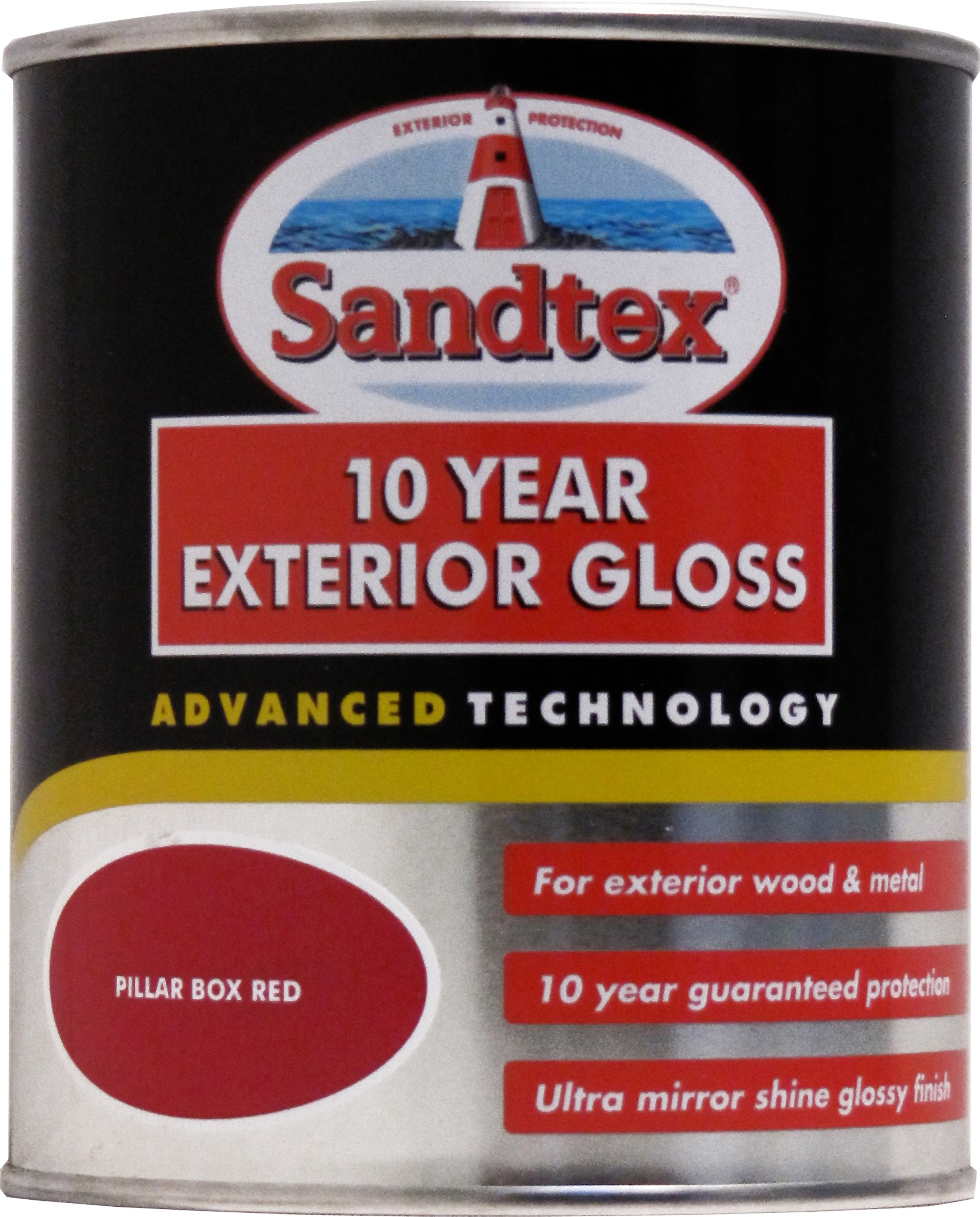 Sandtex 10 year exterior gloss colours paint 750ml gloss - Sandtex exterior paint ideas ...