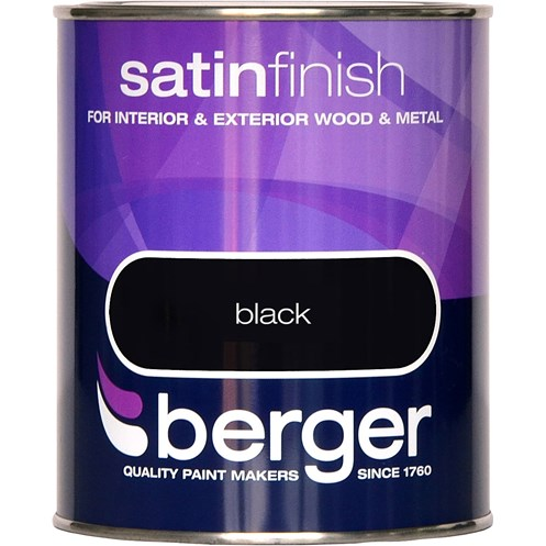 Berger  Satin Colours Paint - 750ml