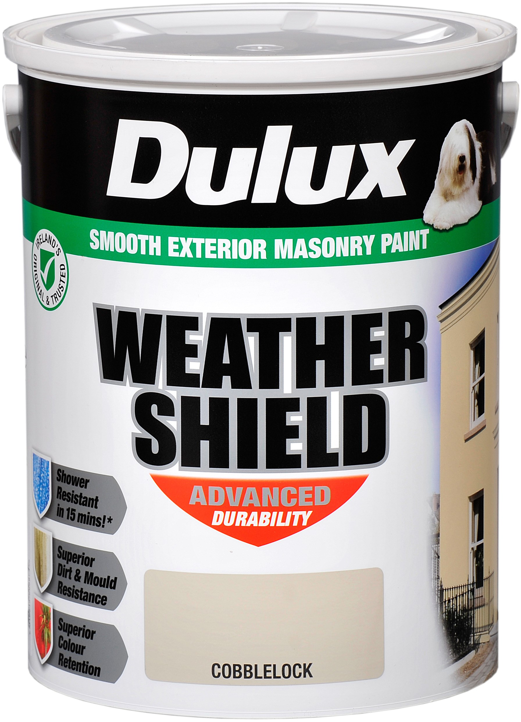 Dulux masonry colours paint 5 litre colour masonry - Dulux weathershield exterior paint minimalist ...
