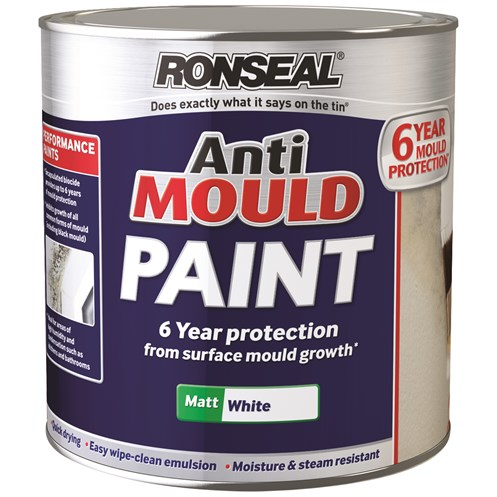 Ronseal Anti Mould Paint Ml Interior Toplineie - Paint to cover mold in bathroom