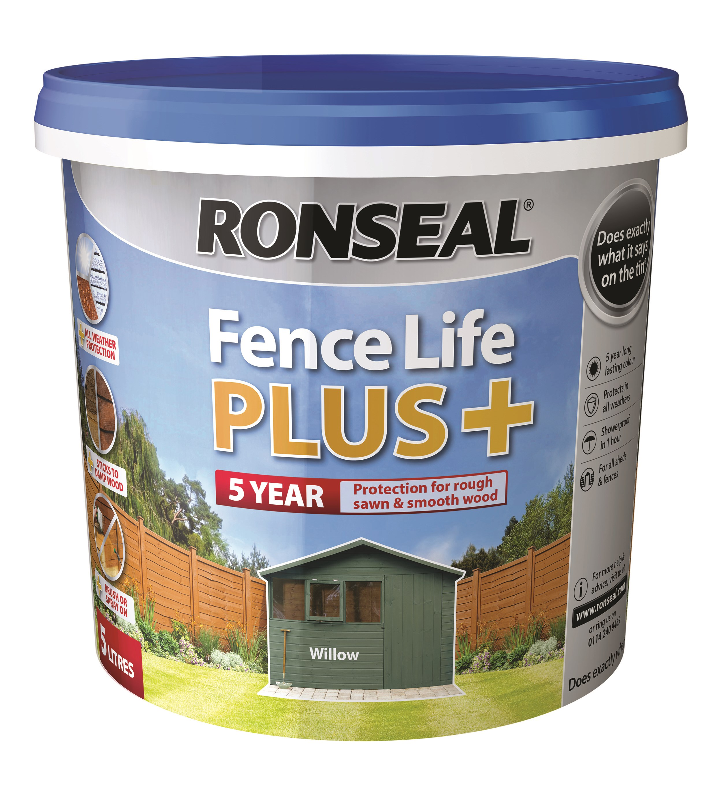 Ronseal  Fencelife Plus - 5 Litre