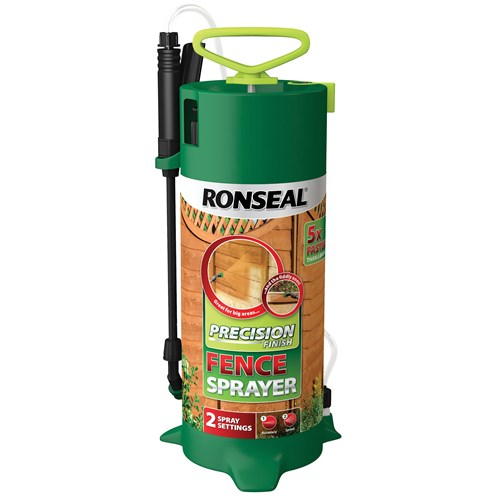 ronseal precision finish fence paint sprayer paint. Black Bedroom Furniture Sets. Home Design Ideas