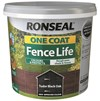 Ronseal  One Coat Fence Life Tudor Black 5 Litre
