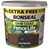 Ronseal Fencelife One Coat Fencelife 4 Litre + 25% Extra Free