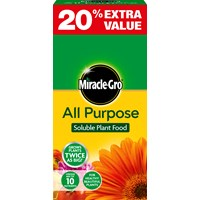 Miracle-Gro  All Purpose Plant Food - 1Kg + 20% Extra Value