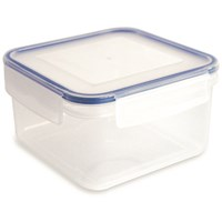 Addis Clip & Close Square Food Storage Box - 1.1 Litre