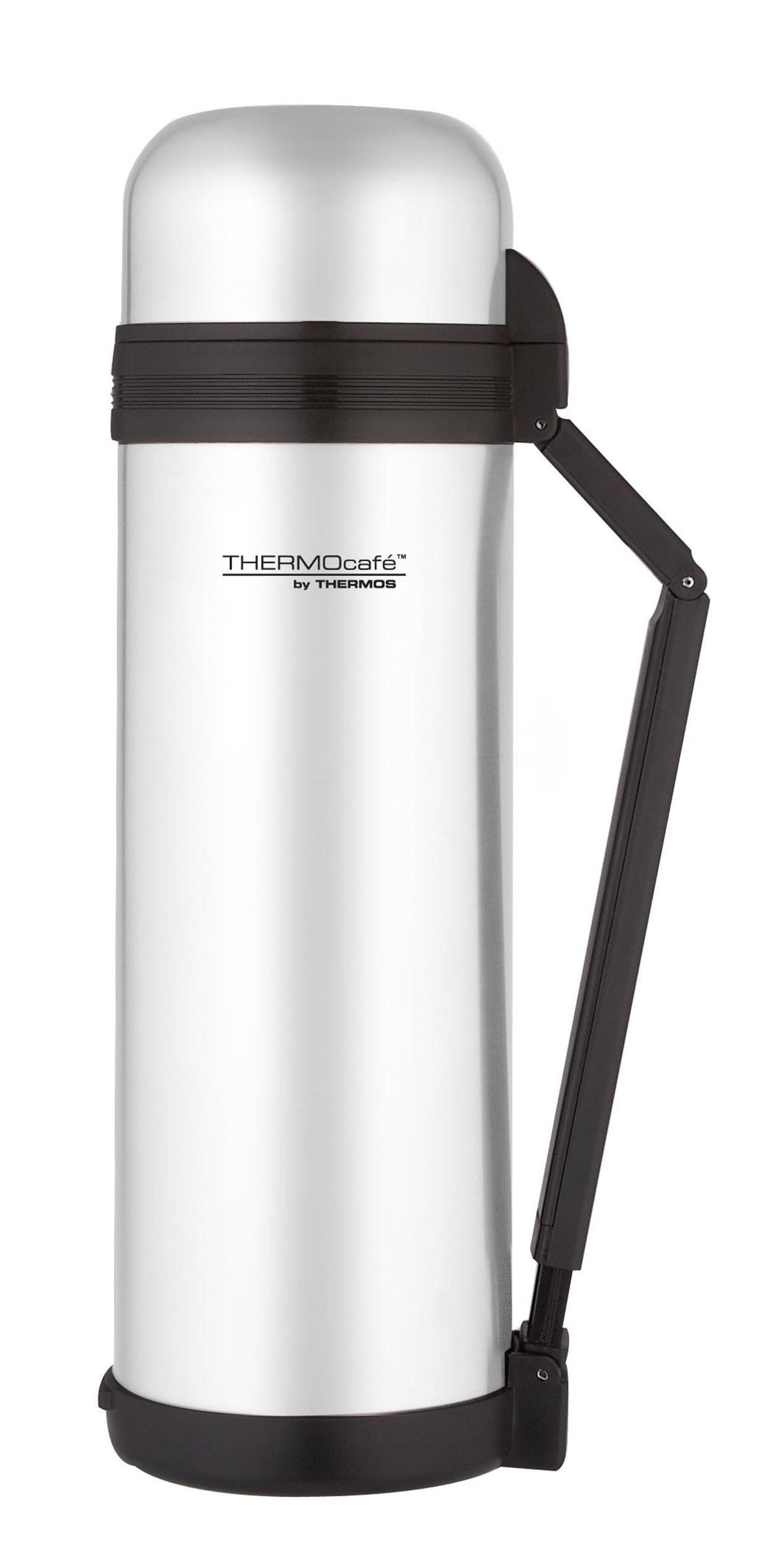 Thermos Stainless Steel Flask with Handle