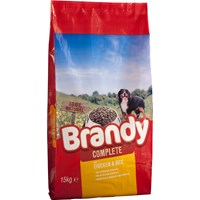 Brandy  Dry Dog Food Complete Chicken & Rice - 15kg