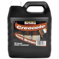 Bartoline  Creocote Wood Treatment - 4 Litre