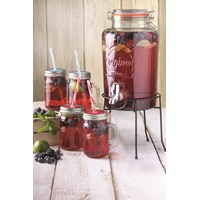 Kilner  Kilner 5L Drinks Dispenser Set -6 Pce