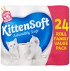 KittenSoft  Adorably Soft Toilet Tissue - 24 Rolls